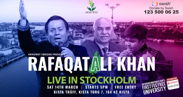 Rafaqat Ali Khan Stockholm